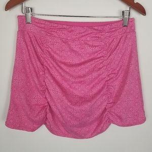 Soybu Athletic Pink Ruched Yoga Skort
